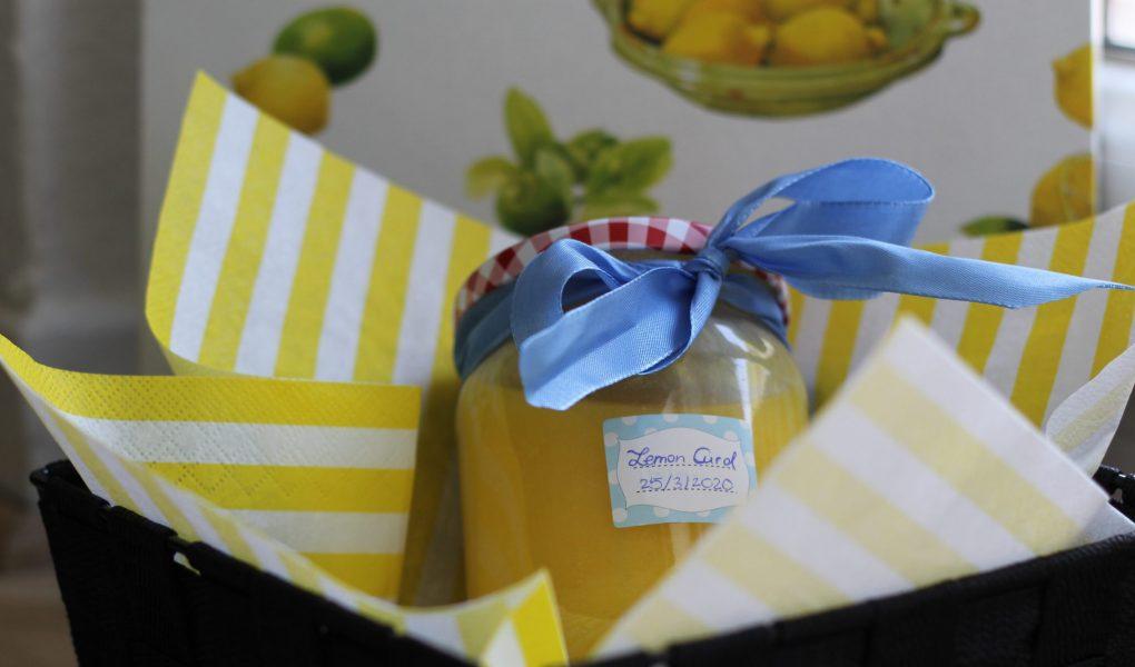 selbstgemachtes Lemon Curd